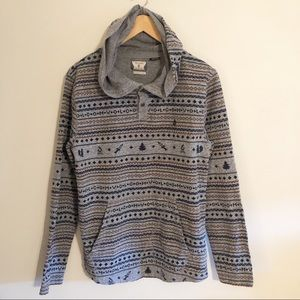 Volcom | Men's Ole Hooded Henley- Size medium